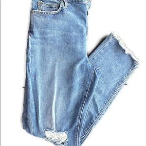 Taylor Hill for Joe's destructed jeans Sz 29
